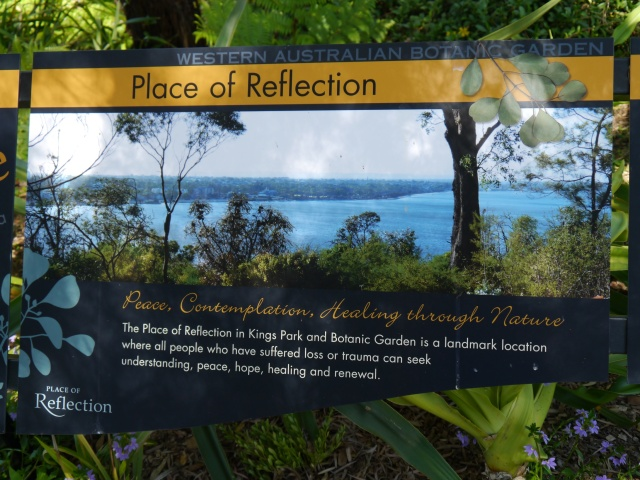 This panel knows what it is about and makes that clear in words and pictures. That's all there is to it!  KIng's Park Botanic Gardens, Perth Australia