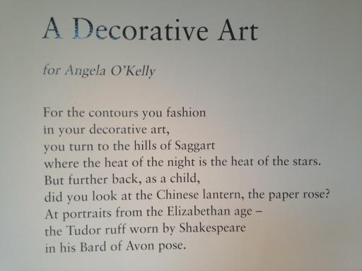 Part of a Decorative Art by Gerard Smyth