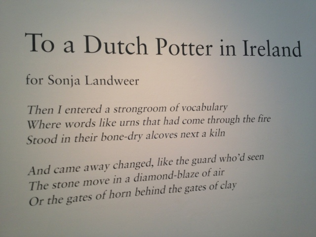 part of To A Dutch Potter in
