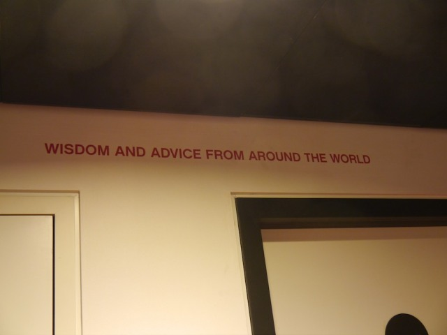 Like all the best museums,  CitizenM gives us provocative ideas to talk about.