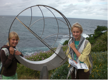 The amazing sculpture trail at Bondi Beach, Sydney. Hurrah! A festival of touchy-feely fun...