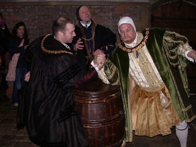 A right royal stag night delivers a whole lot of history at Hampton Court